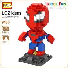 LOZ Diamond Blocks Cute Cartoon Figures Superhero Figure Action Amazing Toys For Boys Building Blocks Pixels