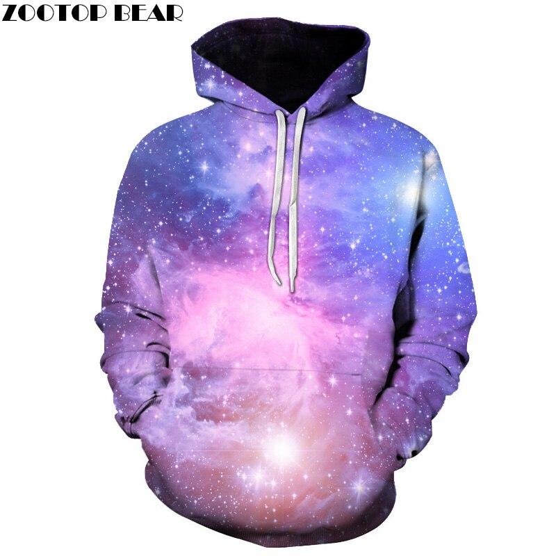 Galaxy 3D Hoodies Men Sweatshirts Space Funny Hoodie Autumn Pullover Brand Tracksuits Male Hot Novelty Streetwear Pocket Coat|3d hoodies men|brand hoodie menfashion hoodie men - title=