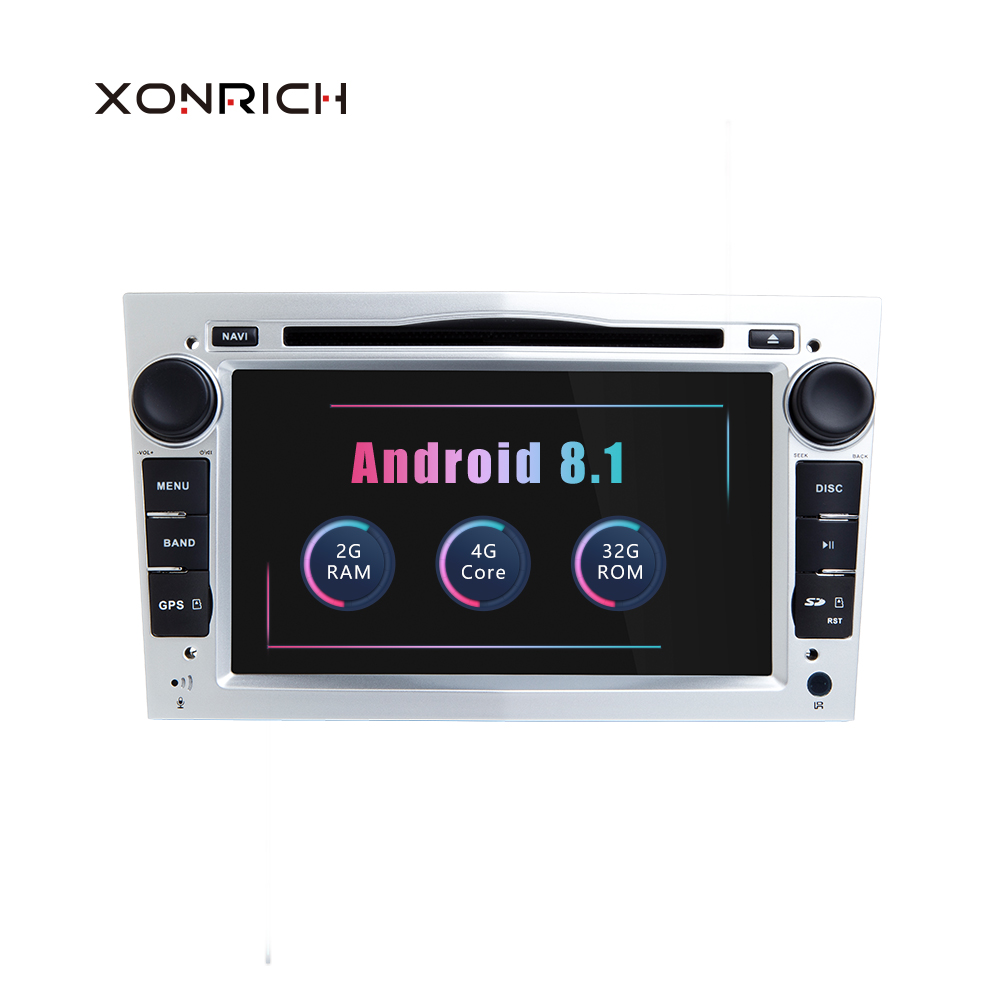 2 Din Android 8 1 Car Multimedia Player For Opel Astra H Vectra C Zafira b