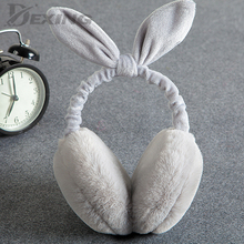 Earmuff Foldable Headphone Ear-Warmer Fluffy Winter Fur Children for Faux-Fur Imitation