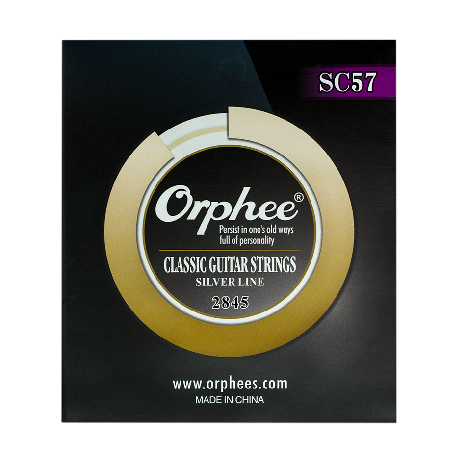 Image 3 - Orphee TR Series Imported Clear Nylon Silver Plated Wire Classic Classical Guitar Strings Hard/Normal Tension 028 043/028 045-in Guitar Parts & Accessories from Sports & Entertainment