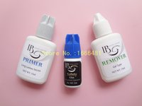 1 set Eyelash Extensions Kit Primer No Irritation Glue Remover for Eyelash Extensions