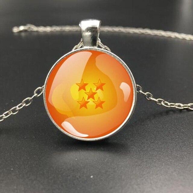 Dragon Ball Orange 1-7stars Necklace Pendant