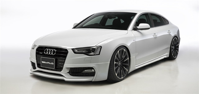 A Wald Style Carbon Fiber Auto Body Kit For Audi A Sin Front - Audi auto body