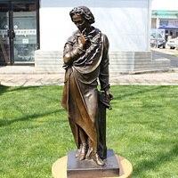 European Sculpture Beethoven musician Home Furnishing figure art business gifts bronze statue Hotel decor decoration crafts