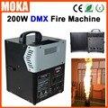 200 W DMX 512 máquina de fuego lanzador de llama proyector DMX Control de llama máquina de pulverización de fuego