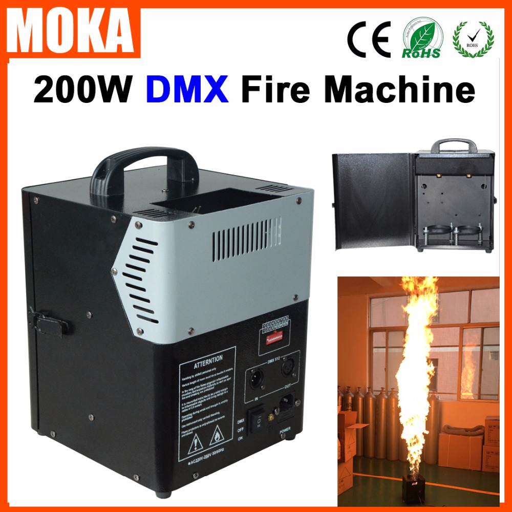 200W DMX 512 Fire Machine Flame Thrower Fire Projector DMX Control Flame Machine Spray Fire Machine200W DMX 512 Fire Machine Flame Thrower Fire Projector DMX Control Flame Machine Spray Fire Machine