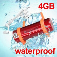 A Estrenar Impermeable Subacuático 4 GB MP3 WMA Reproductor de Natación de Agua