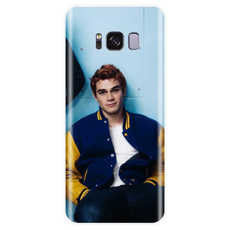 Riverdale del lado sur serpientes cubierta dura de silicona suave caso de teléfono para Samsung Galaxy NOTE 8 a 9 S6EDGE S6 S7 S8 s9 S10 más S10E