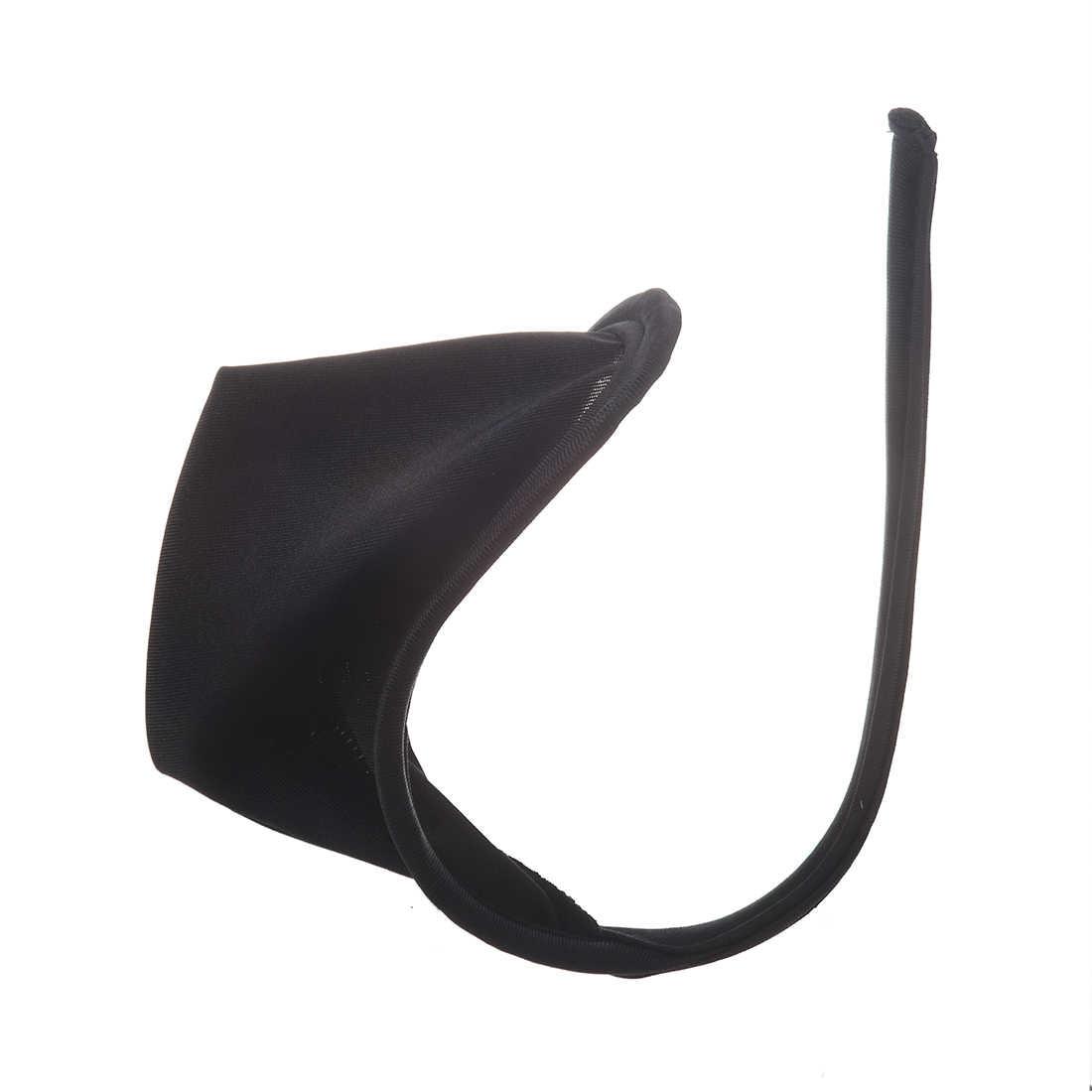 Sexy C-string Perizoma Invisibile Biancheria Intima Panty per Gli Uomini-Nero