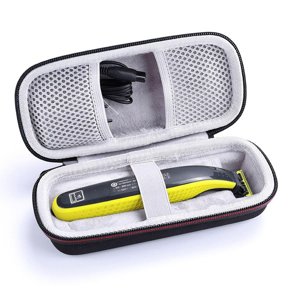 Neueste EVA Tragbare Fall für Philips OneBlade Trimmer Rasierer und Zubehör Reisetasche Lagerung Pack Box Abdeckung Beutel mit Futter