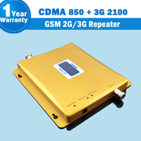 2019 Lintratek 2g 3g Repeater CDMA 850 UMTS 3G 2100 Dual Band Amplifier Mobile Phone Signal Booster Cellular GSM 2G Repeater S05