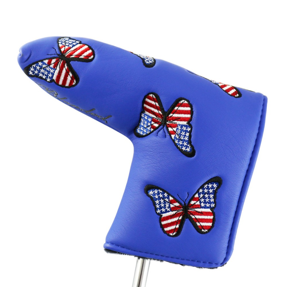 1pc Golf Putter Covers For Golf Scotty Cameron Putter -PU Leather Embroidery Headcover