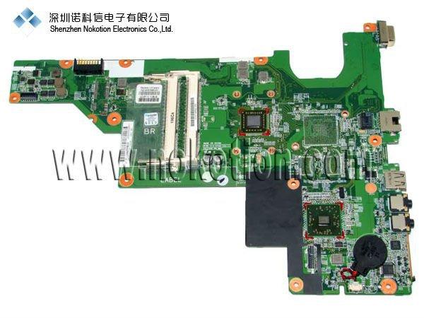 ФОТО Original laptop Motherboard For hp CQ57 653985-001 AMD 15.6 LaptoP Mainboard 100% FULL TEST