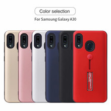 matte armor Kickstand phone case for Samsung Galaxy A10 A20 A30 A50 A70 A5 A7 A8 A9 2017 star Finger ring holder hard plastic