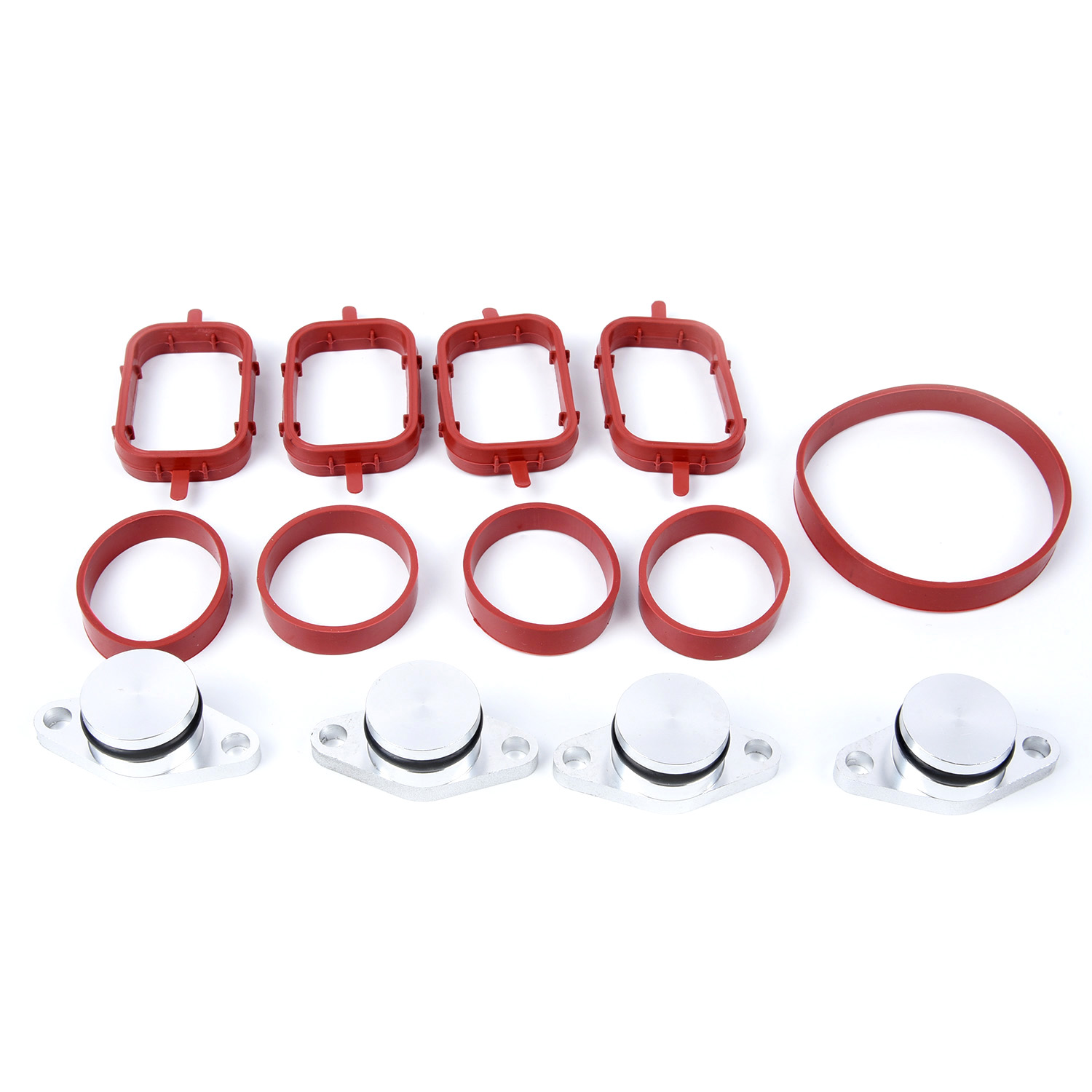 4 Pcs 22mm Diesel Swirl Flap Blanks Bungs Intake Gaskets Kit For BMW M47/E46 320d 330d 525d 530d SI-A0136 Car Accessories image