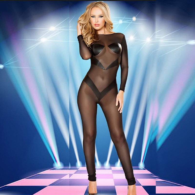 Sexy Lingerie Hot Erotic Bodystocking Plus Size