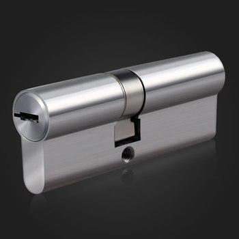 Súper grado C Acero inoxidable puerta antirrobo cerradura seguridad cerradura cilindros clave 70mm-90 MM puerta cerradura de cilindro 8 llaves