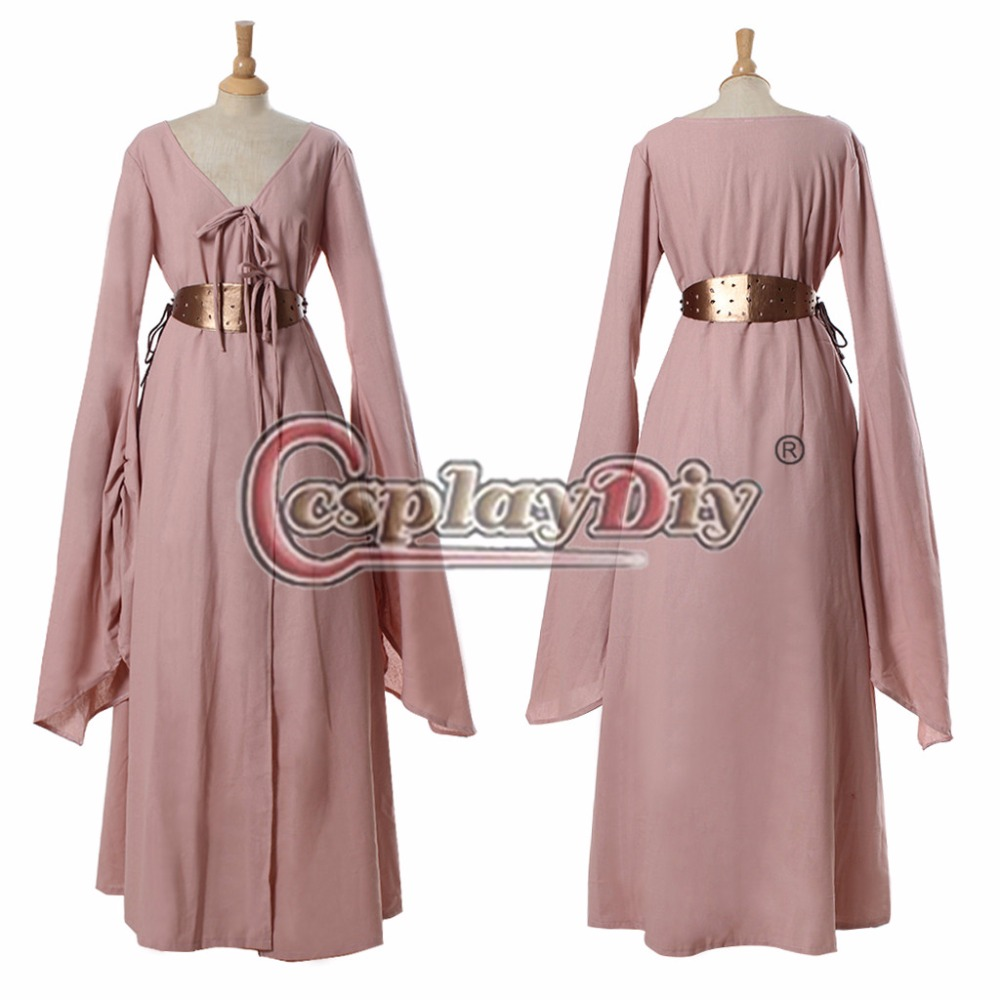 Cosplaydiy Game of Thrones Sansa Stark Adult Women Medieval Dress Royal Medieval Cosplay Costume For Halloween Custom Made D0319