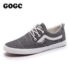 de21459b GOGC 2018 nuevos zapatos casuales zapatos de los hombres zapatillas de  deporte de gran tamaño zapatos de lona zapatos de los hom.