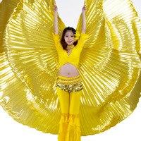 Oro de Plata Del Vientre Alas de Isis De Danza De La Mariposa para Las Mujeres Bellydance Indio Oriental Oriental Dancing Accesorios Traje de Abertura