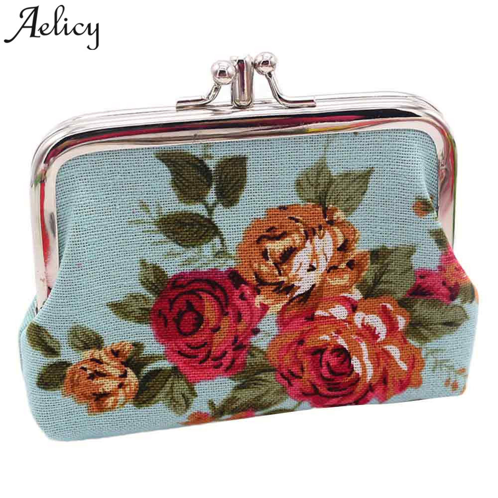 Aelicy 2018 Excellent Quality New Coin Purses Wallet Ladies Small Wallet Card Holder Coin Purse Change Fashion Cute Small Bag