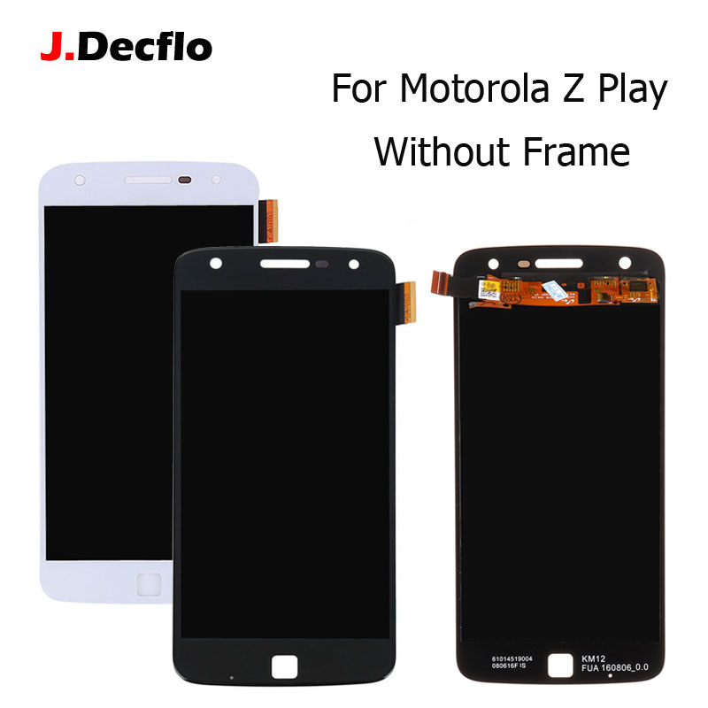 For Motorola Moto Z Play <font><b>XT1635</b></font> LCD Display Touch Screen Without Frame Digitizer Assembly Best Quality 5.5 Inch 1920*1080 image
