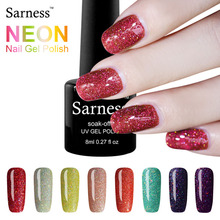 Colorful Neon Nail Gel Soak Off UV Gel Polish With DIY Nail Art UV Gel Polish Long Lasting UV Gel Lacquer vernis semi permanent