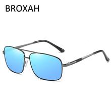Vintage Mens Driving Glasses 2019 Retro Brand Polaized Sunglasses Men Metal Pilot Male Shades Lunette De Soleil Homme