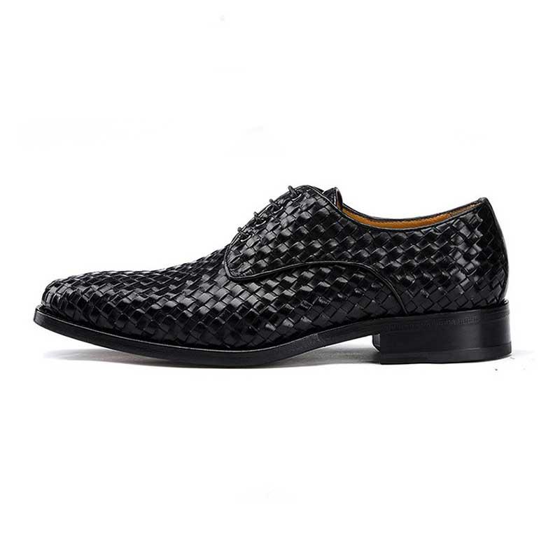 Casamento Tecer Grimentin Artesanal Black De Personalizado Formais Couro Goodyear Sapatos Genuíno brown Dos Homens Mens ax14d0qx