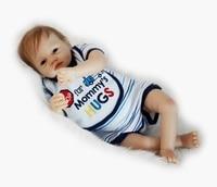 Doll Baby dollmai 55CM 22inch Doll bebes Reborn Dolls Girl Lifelike Silicone Reborn Doll Fashion Boy girl Newborn Reborn Babies