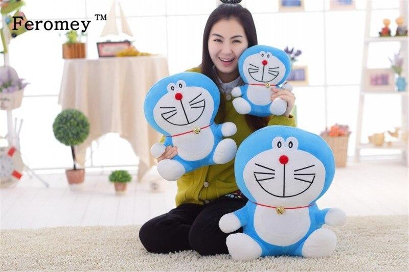 Kawaii 25cm Doraemon Plush Doll Toys with Led Light Doraemon Luminous Plush Toys Glow in Dark Flashing Children Birthday Gift sitting height 65cm anime cartoon cute doraemon plush toys japanese anime doraemon cat plush toys children s gift