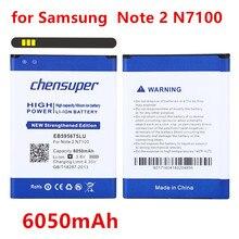 2019 새로운 6050 mAh 배터리 EB595675LU 삼성 갤럭시 노트 2 II note2 N7100 E250 Note 2 LTE N7105 N7102 T889 L900 Verizon i605
