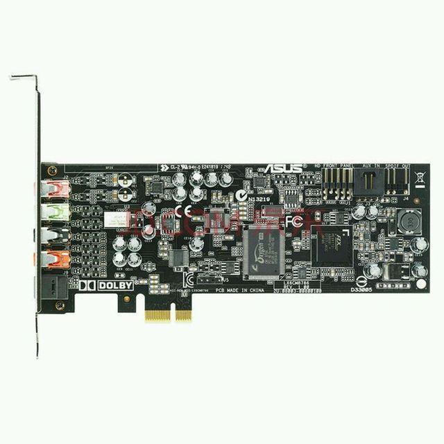 (Б/у), оригинальный ASUS Xonar DGX professional звуковая карта PCI-E интерфейс 5,1 канал, 100% Протестировано хорошо!