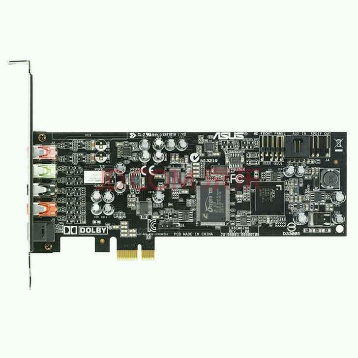 (בשימוש), ASUS המקורי Xonar DGX כרטיס קול מקצועי PCI-E ממשק 5.1 ערוץ, 100% נבדק טוב!