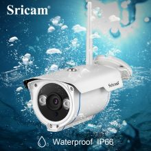 Sricam SP007 HD 1080P IP Camera WIFI 2.4 P2P Onvif Waterproof Outdoor Wireless IP Cam For Smartphone PC IR Cut Night Version(China)