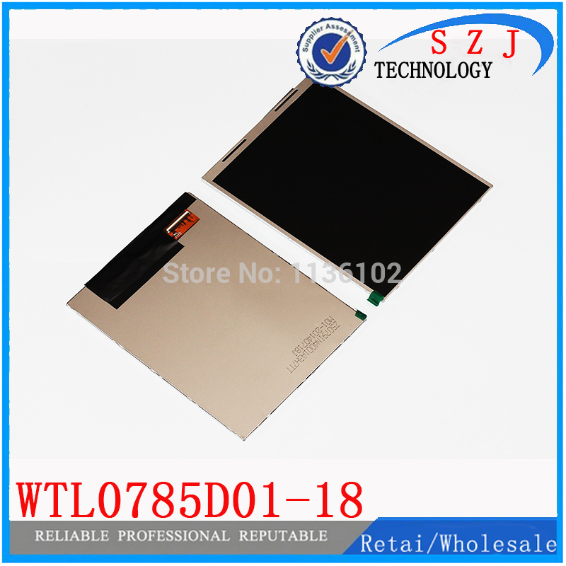 New 7.85 inch case WTL0785D01-18 LCD Screen Display Panel For Ainol Novo 8 Mini Tablet IPS LCD 1024*768 Free shipping original 7 inch 163 97mm hd 1024 600 lcd for cube u25gt tablet pc lcd screen display panel glass free shipping