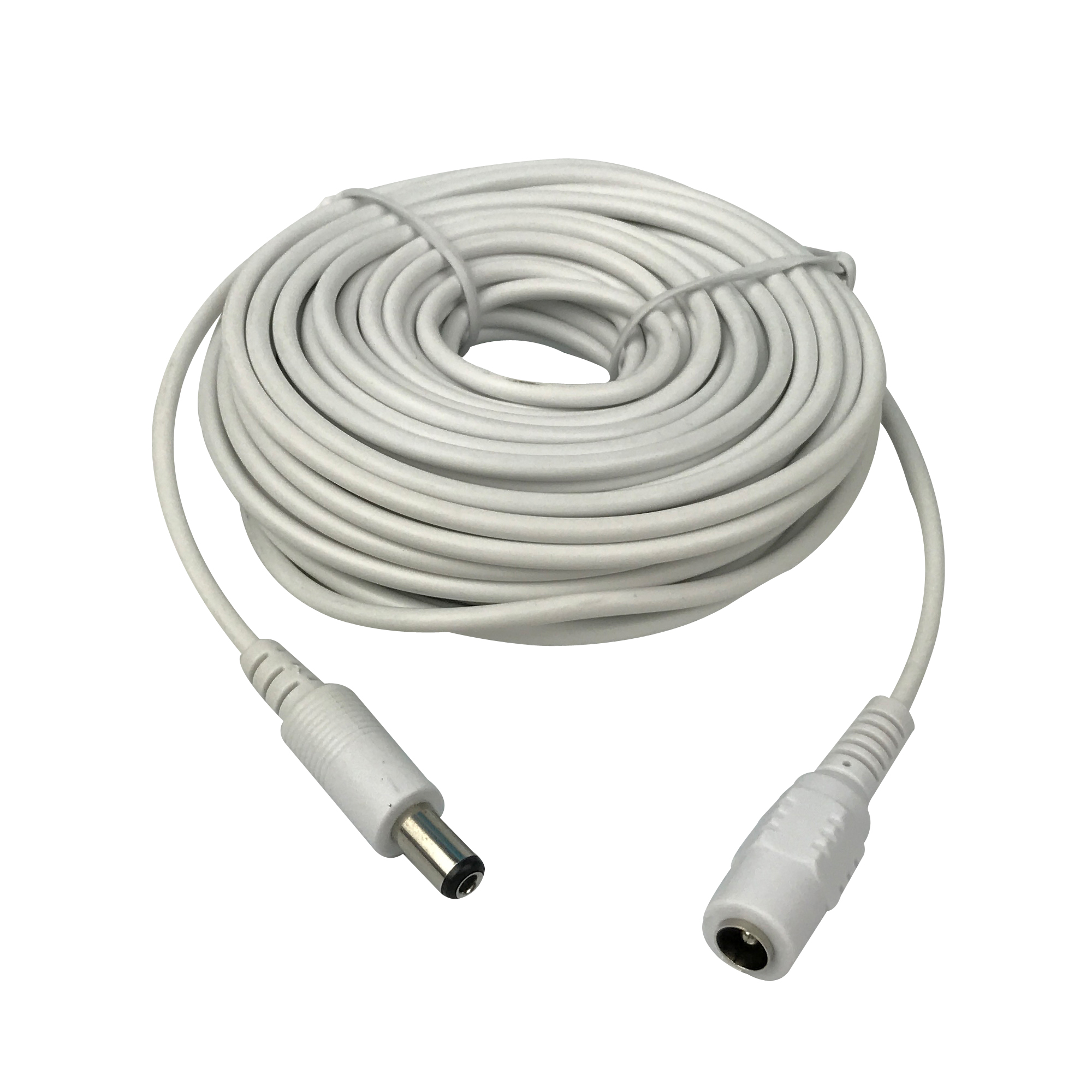 CCTV 10m(30ft) 2.1x5.5mm Dc 12v Power Extension Cable for Audio Security Cameras Ip Camera Dvr Standalone white colorCCTV 10m(30ft) 2.1x5.5mm Dc 12v Power Extension Cable for Audio Security Cameras Ip Camera Dvr Standalone white color