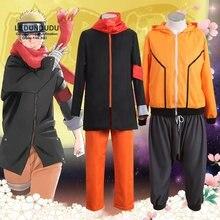 Аниме «Последний Наруто» из фильма Узумаки Наруто; маскарадные костюмы боруто; необычные вечерние костюмы на Хэллоуин; костюм ниндзя; одежда для 8-го 9го