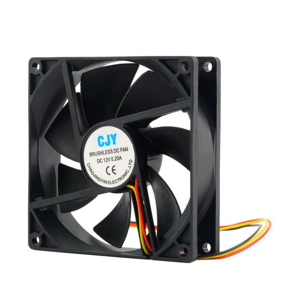 2017 Newest 1pc 12V 3-Pin 9cm 90 x 25mm 90mm CPU Heat Sinks Cooler Fan DC Cooling Fan 65 CFM High quality! монитор philips 237e7qdsb