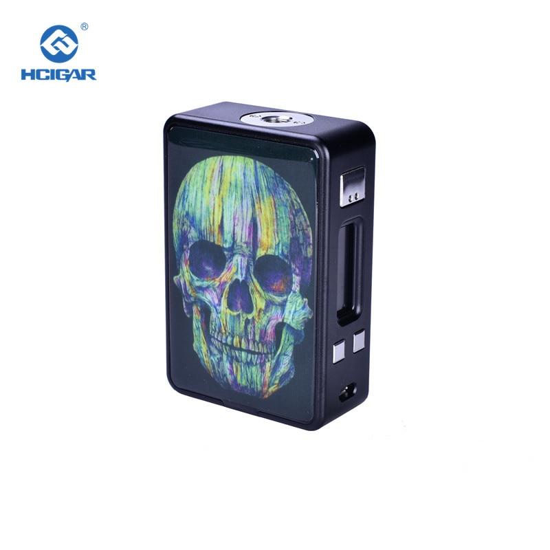 Cigarette électronique Mods D'origine HCIGAR VT Boîte de Réception V3 Mech Mod 75 W Vaporisateur Alimenté Evolv Glisser TC DNA75 Puce Alimenté 18650 Batterie
