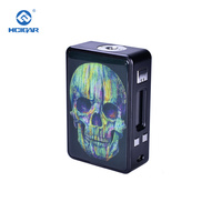Electronic Cigarette Mods Original HCIGAR VT Inbox V3 Mech Mod 75W Vape Powered Evolv Drag TC DNA75 Chip Powered 18650 Battery