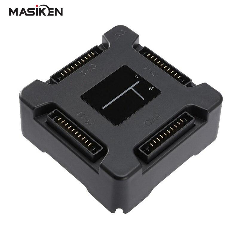 Masiken 4 в 1 умный Батарея зарядной док-станции для dji Мавик <font><b>Pro</b></font> Drone База Кардл Зарядное устройство концентратора для dji Мавик <font><b>pro</b></font> Интимные аксессуа&#8230;