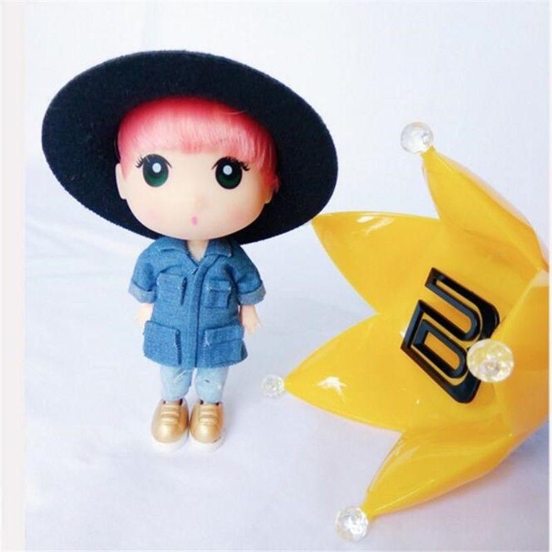 KPOP BigBang G-Dragon We Like II Party GD Limited Figure Doll Toy Display Gift 13cm/5 Collection new kpop bigbang gd gdragon the same gd is back peaceminusone seoul hand bag