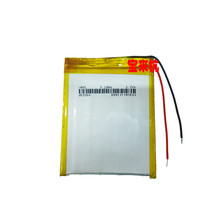 New polymer battery, slim 265360, battery 265565, alternative type battery, MP4 battery Rechargeable Li-ion Cell