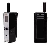 רדיו ווקי טוקי 2pcs מיני ווקי טוקי 400-480MHZ כף היד לילדים שני דרך רדיו T-M2D הסופר הזעיר FRS / GMRS Henglida Walky טוקי (4)