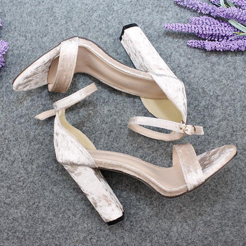 Chaussures Top Taille Simple 43 Femmes 300 Velours De Talons Poadisfoo Sandales Haute Talon Vente Mot 2019 Rugueux Zl Black Bande Bouche rose 8 gwnF8qZ5