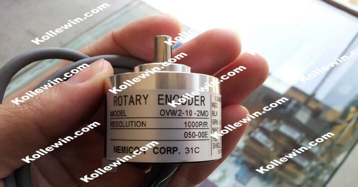 OVW2-10-2MD NEW OVW2-10-2MD rotary encoder / 1000P / R 1000 line economi encoder, new in box, Free Shipping. noc hp1024 2md nemicon encoder