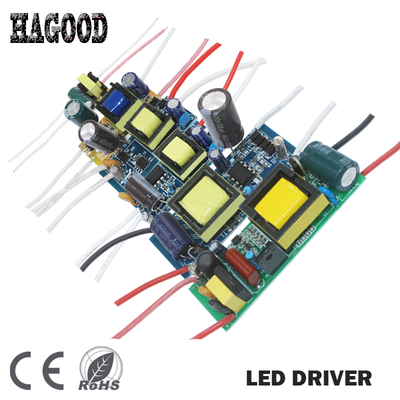 цена на 1pcs Lighting Transformer 1-36W LED Driver AC85-265V Constant Current 300mA DC3-136V Power Supply Adapter for Led Lamp Spotlight