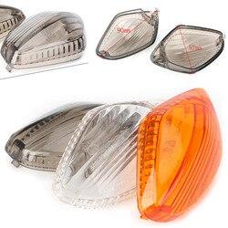 Moto sinal de volta blinker luz lente capa para honda cb500f cb500x cbr500r cbr400r cb650f cbr650f nc700 nc750 s/x ctx700 etc